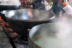 Cooking for pilgrims