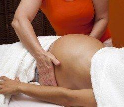 Massage – pre-natal