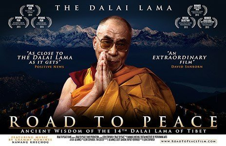 """""""The Road to Peace"""" with the Dalai Lama: Community Movie night: June 3"""