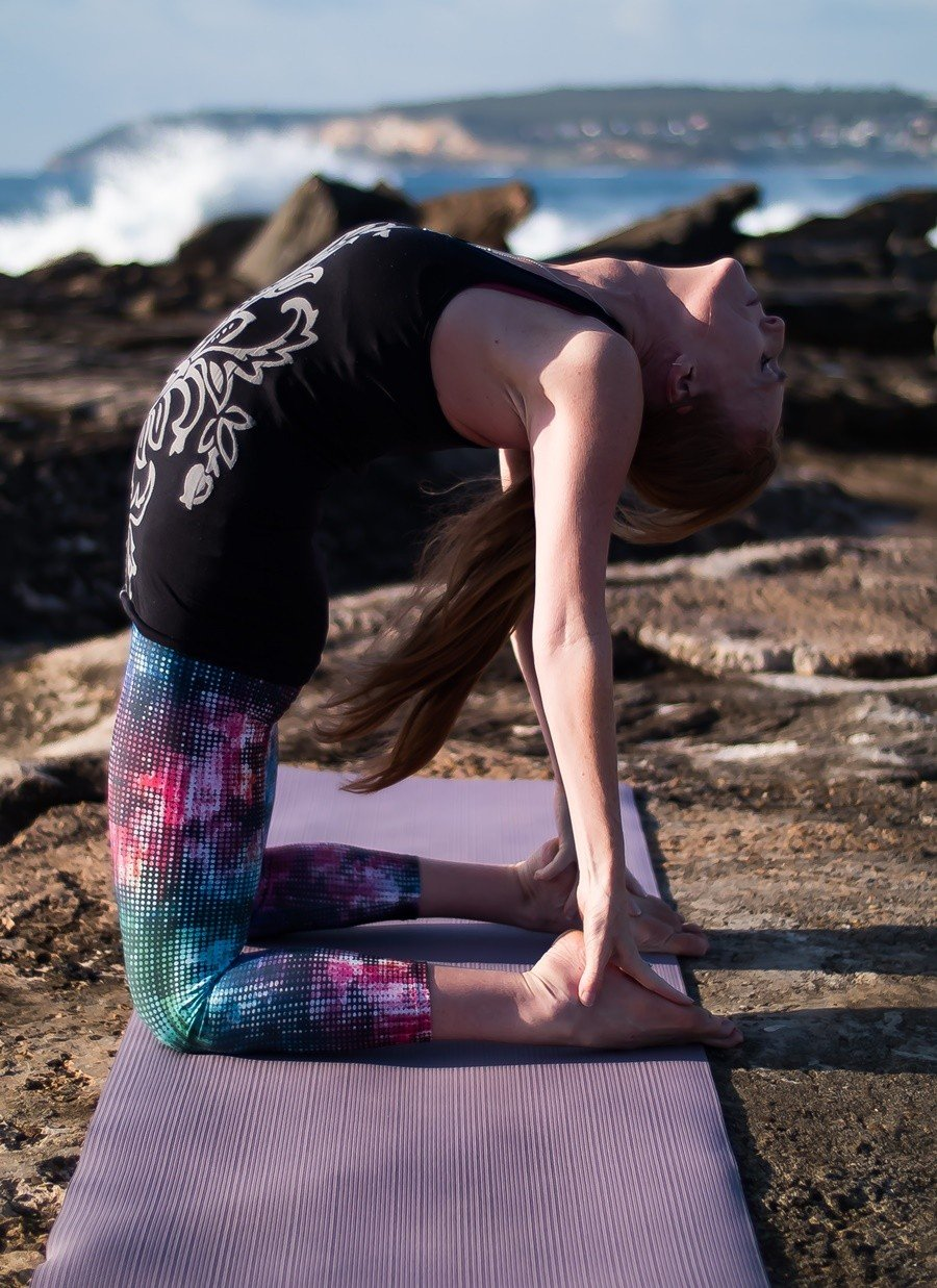 5th Chakra Yoga Workshop: Self-expression and Creativity with Stephanie. Oct 17
