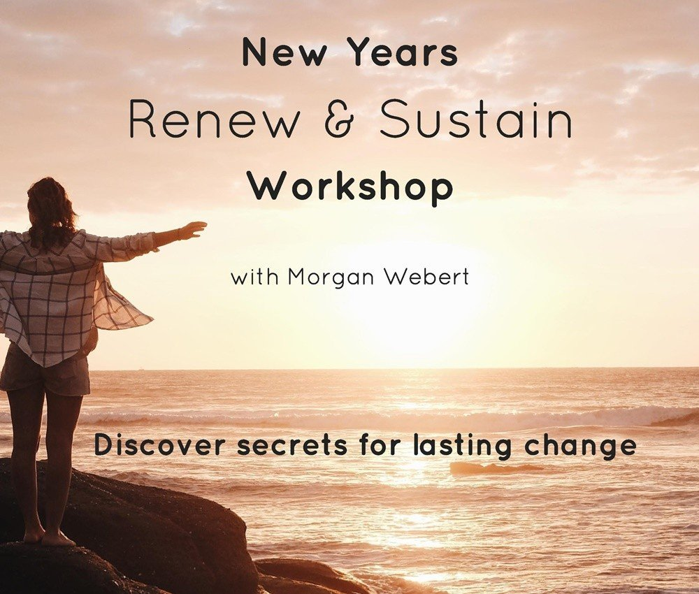 Renew & Sustain: New Year's workshop with Morgan Jan 6