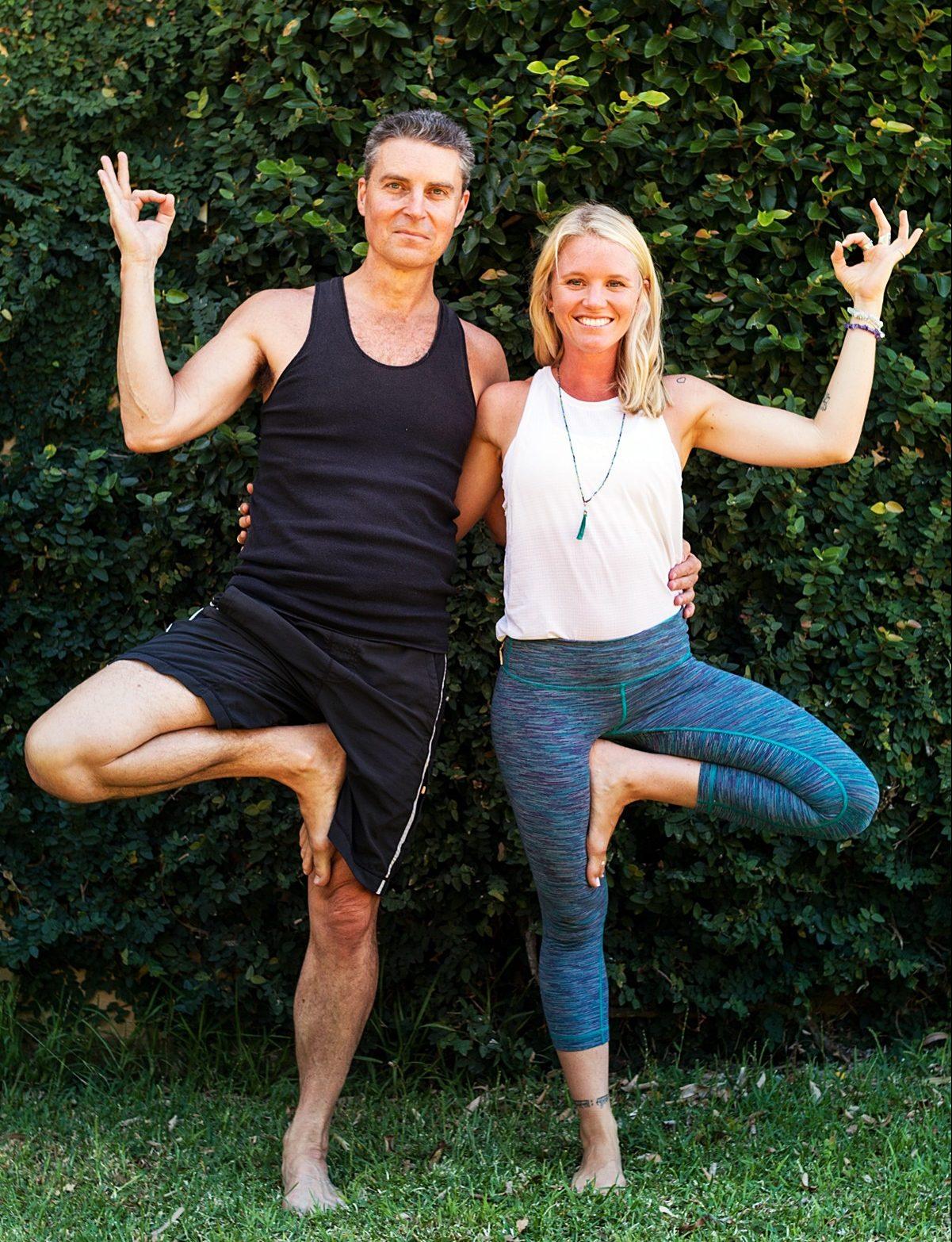 Finding Divine Balance: Yoga Workshop with Mark & Phoebe