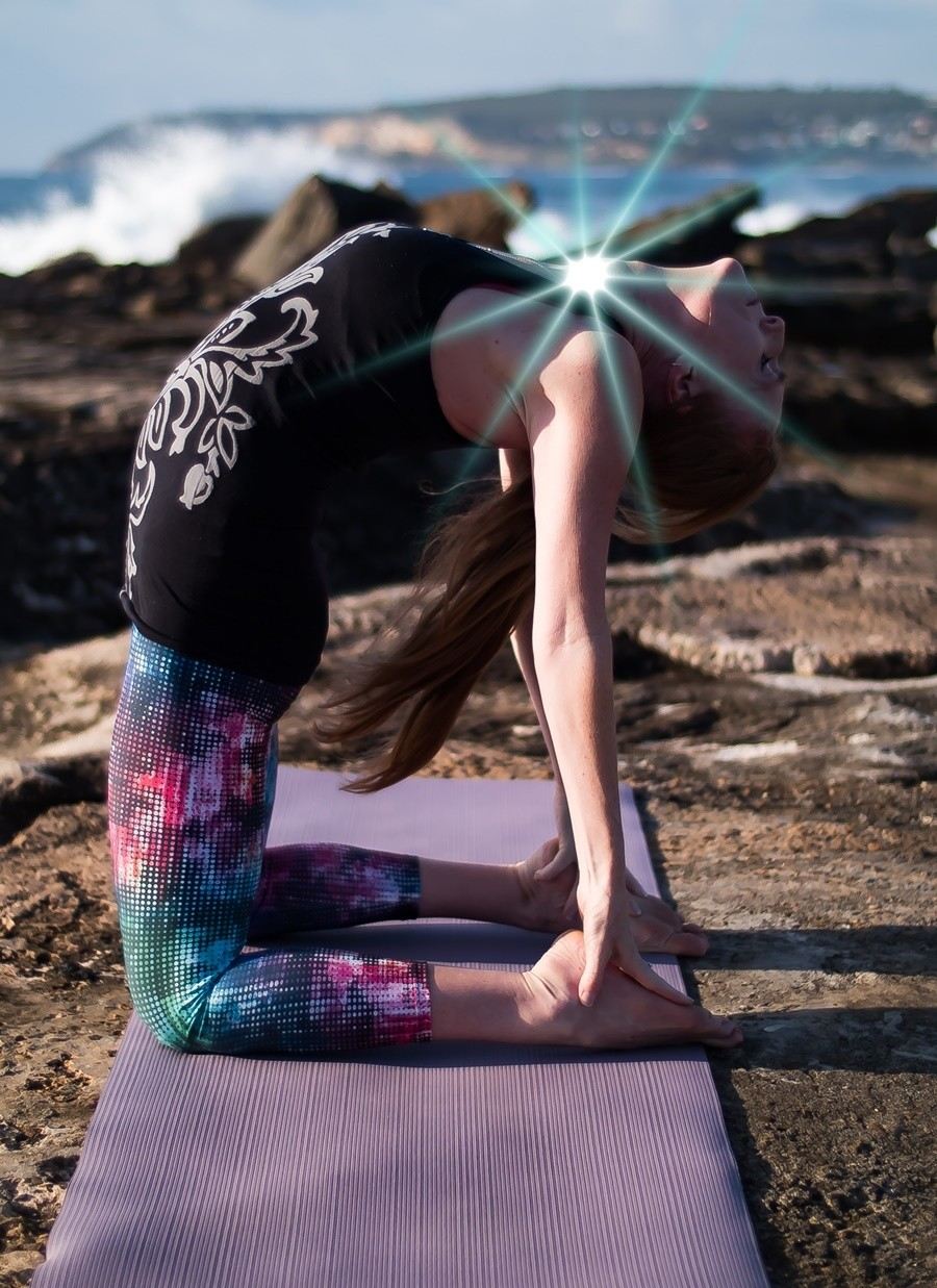 Fifth Chakra Yoga Workshop: Self-expression and Creativity with Stephanie