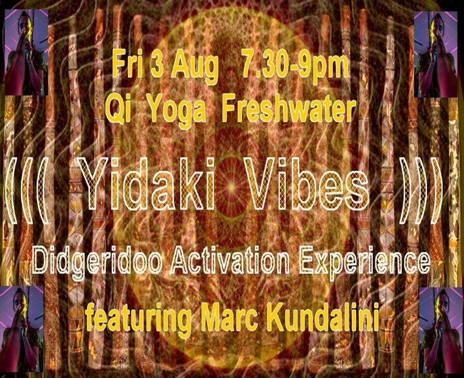 Yidaki Vibes: Didgeridoo Activation Experience with Marc Cottee