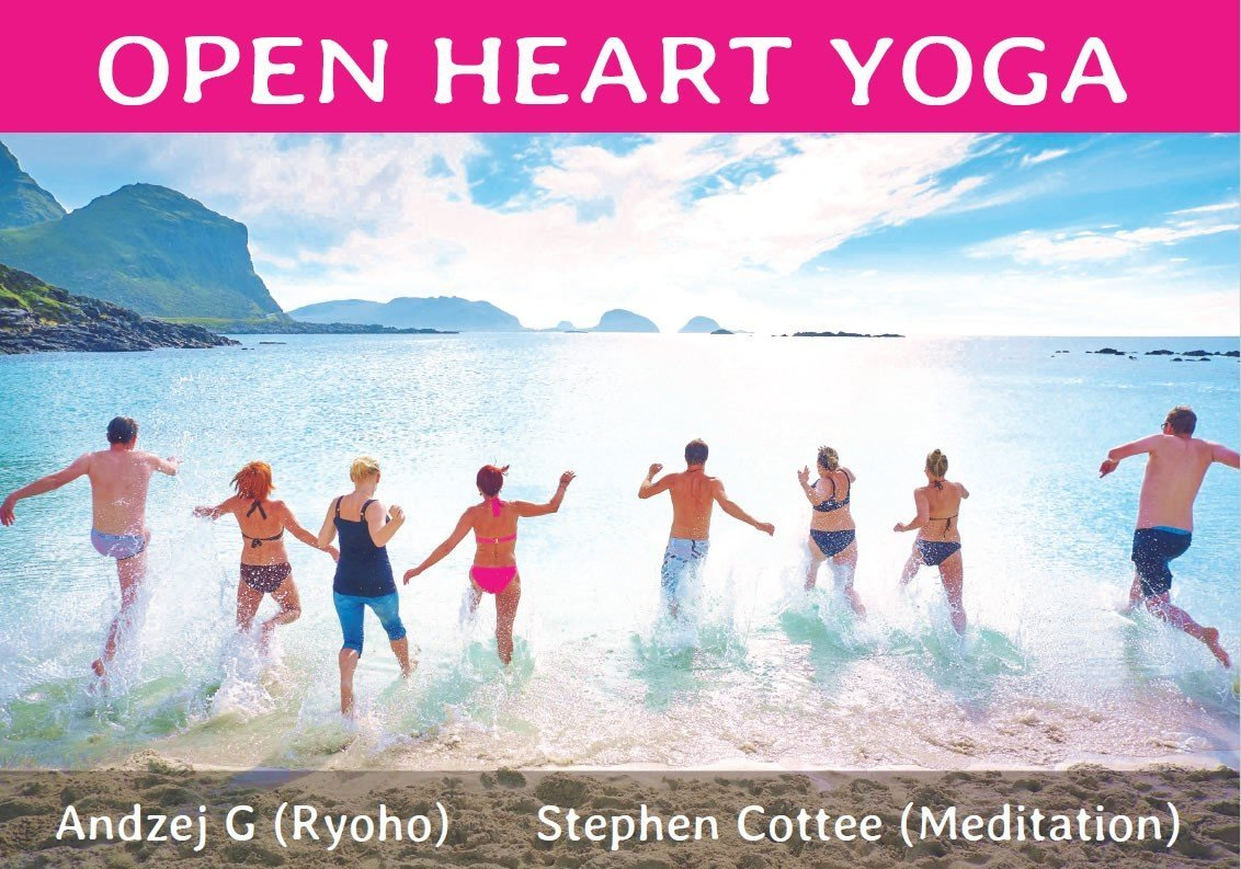 Open Heart Yoga with Andzej and Stephen