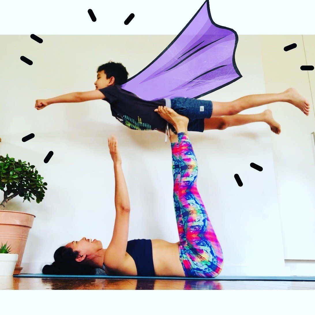 Family Yoga Workshop for kids 4 - 12years with Toonie. Feb 1
