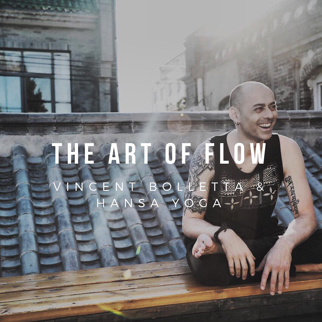 The ART of FLOW: training with Vincent Bolletta June 22