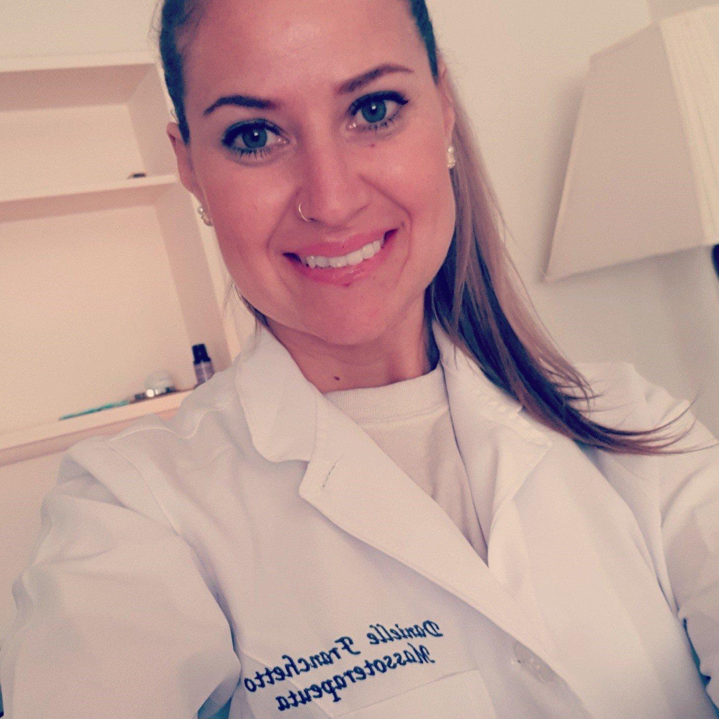 Enjoy a treatment from massage expert Danielle Pereira