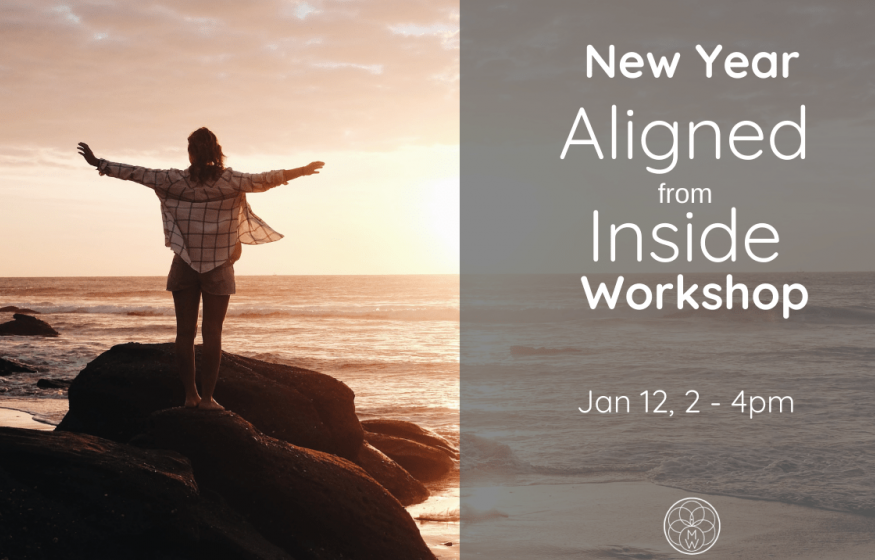 New Year – Aligned from Inside with Morgan Webert. Jan 12