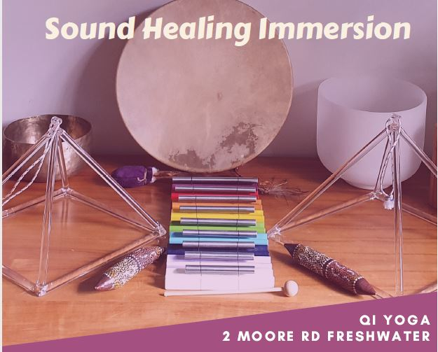 Sound Healing Immersion with Nev Winkworth